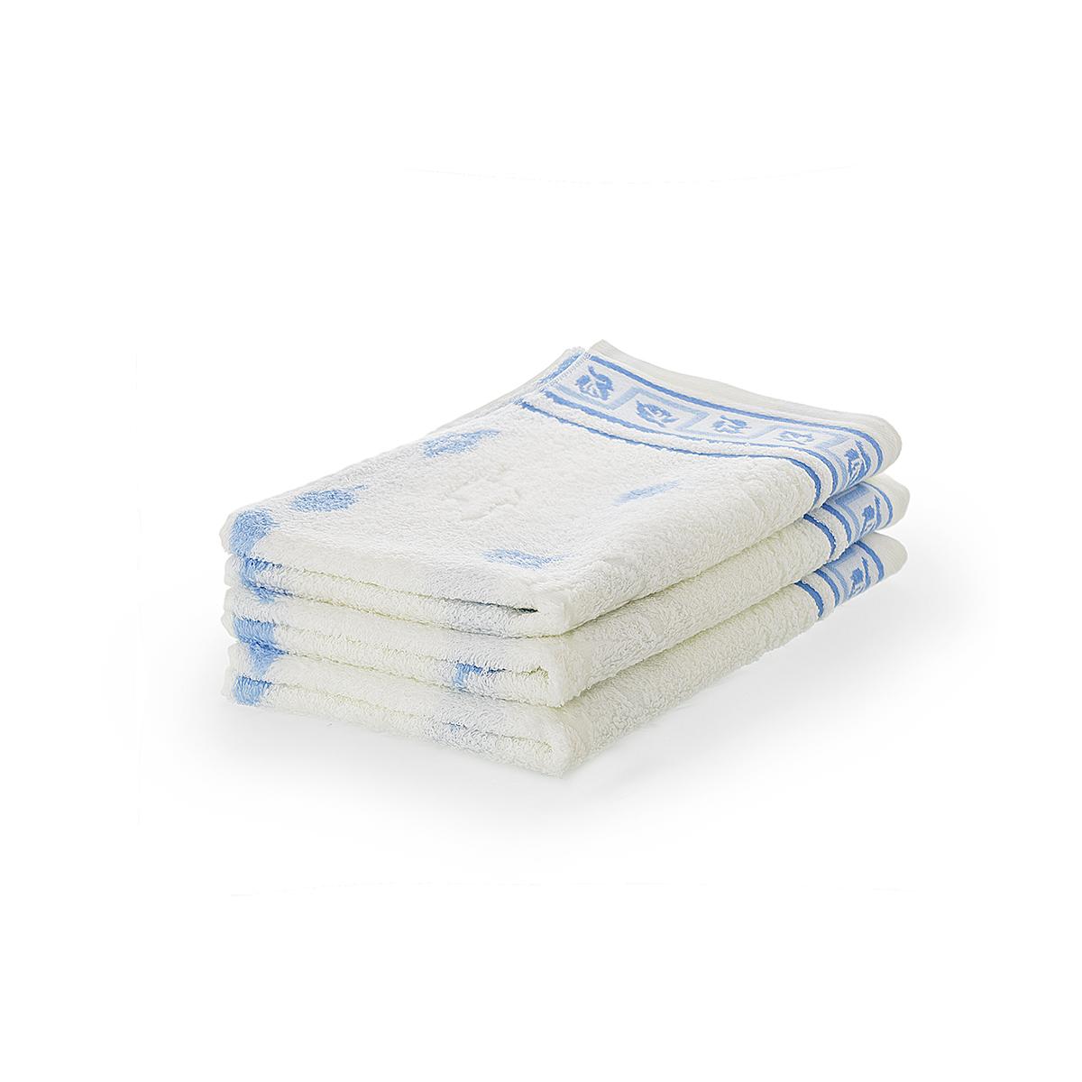 Полотенце Листопад Голубой, размер 34х78 смМахровые полотенца<br>Плотность ткани: 480 г/кв. м.<br><br>Тип: Полотенце<br>Размер: 34х78<br>Материал: Махра