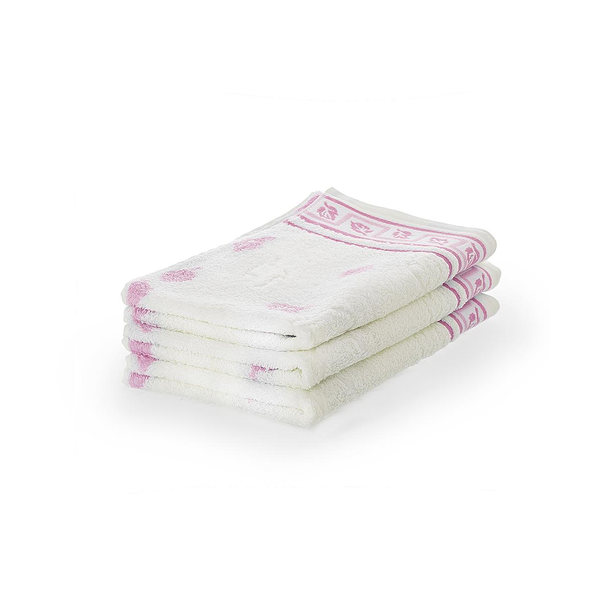 Полотенце  Листопад  Розовый, размер 65х135 см - Текстиль для дома артикул: 17992