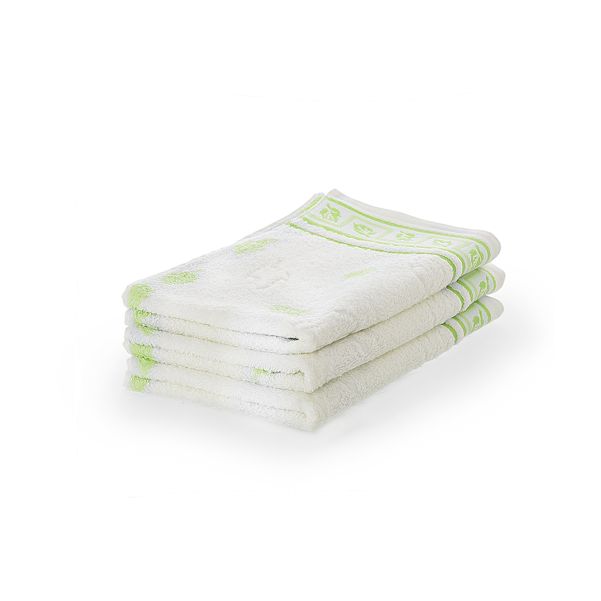 Полотенце Листопад Зеленый, размер 65х135 смМахровые полотенца<br>Плотность ткани: 480 г/кв. м.<br><br>Тип: Полотенце<br>Размер: 65х135<br>Материал: Махра