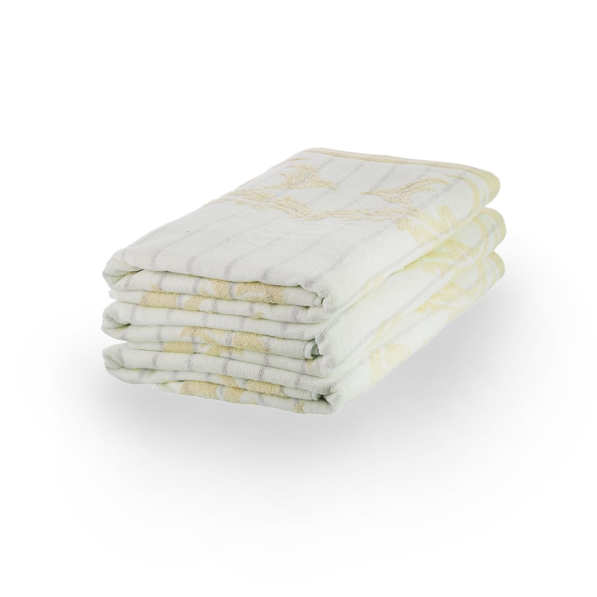Полотенце Гламур Бежевый, размер 34х78 смМахровые полотенца<br>Плотность ткани:360 г/кв. м.<br><br>Тип: Полотенце<br>Размер: 34х78<br>Материал: Велюр