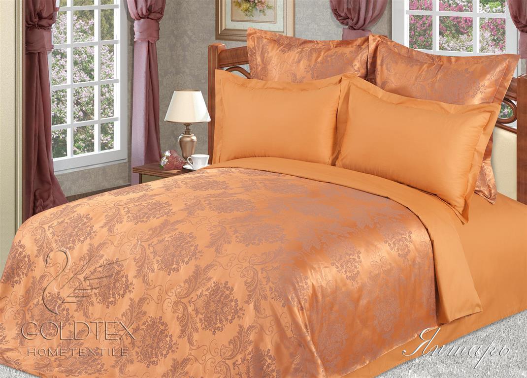 Комплект  Янтарь , размер 2,0-спальный с 4 наволочками - Постельное белье артикул: 10702