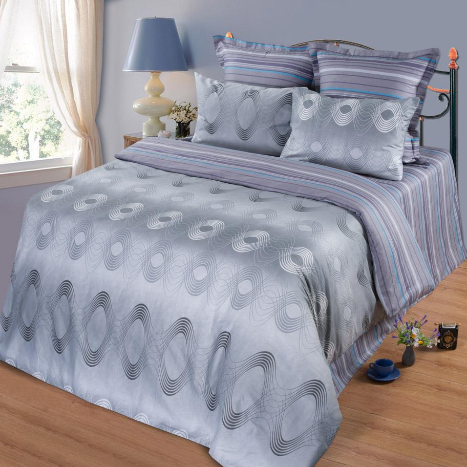 Комплект Белиз, размер 1,5-спальный с 4 наволочкамиСатин<br>Плотность ткани:135 г/кв. м.<br>Пододеяльник:215х145 см - 1 шт.<br>Простныня:220х150 см - 1 шт.<br>Наволочка:70х70 см - 2 шт. 50х70 см - 2 шт.<br><br>Тип: КПБ<br>Размер: 1,5-сп. 4 нав.<br>Материал: Сатин