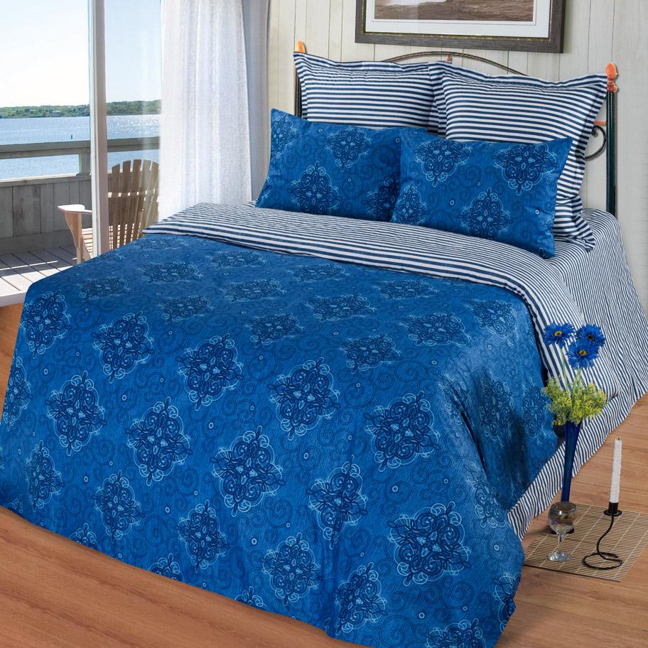 Комплект Капри, размер 1,5-спальный с 4 наволочкамиСатин<br>Плотность ткани:135 г/кв. м.<br>Пододеяльник:215х145 см - 1 шт.<br>Простныня:220х150 см - 1 шт.<br>Наволочка:70х70 см - 2 шт. 50х70 см - 2 шт.<br><br>Тип: КПБ<br>Размер: 1,5-сп. 4 нав.<br>Материал: Сатин