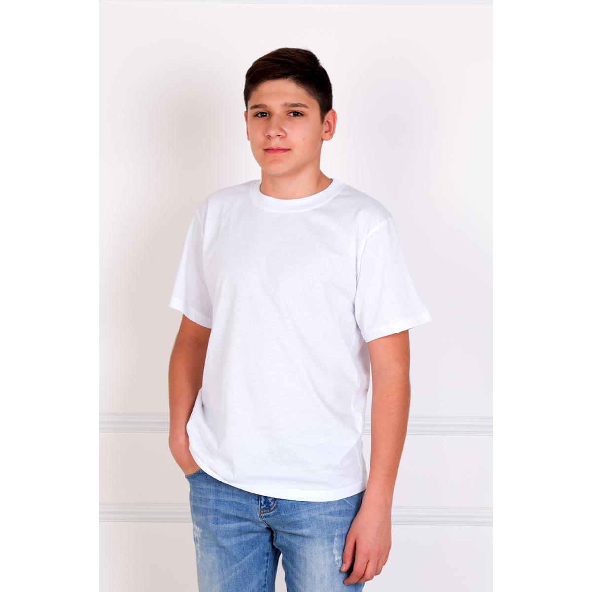 Мужская футболка Мич Белый, размер 60Майки и футболки<br>Обхват груди:120 см<br>Обхват талии:112 см<br>Обхват бедер:116 см<br>Рост:178-188 см<br><br>Тип: Муж. футболка<br>Размер: 60<br>Материал: Кулирка