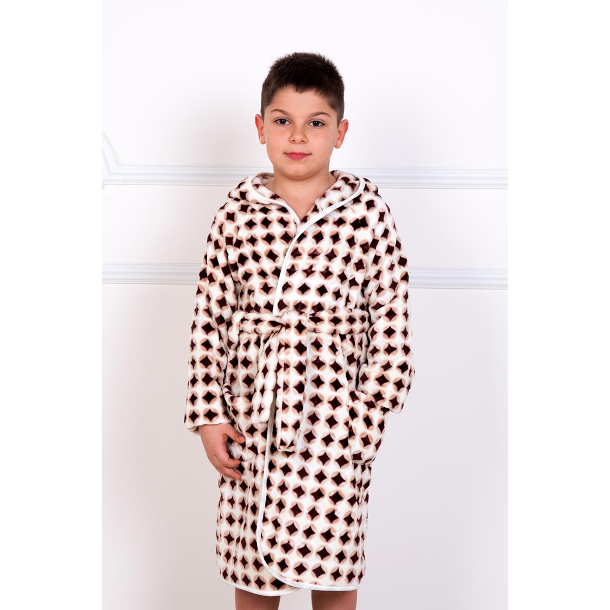 Детский халат Ромбик, размер 30Халаты<br><br><br>Тип: Дет. халат<br>Размер: 30<br>Материал: Ультрасофт