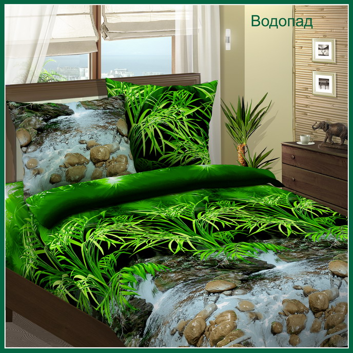 КПБ Водопад, размер 2,0-спальный кпб сити в коричневом размер 2 0 спальный