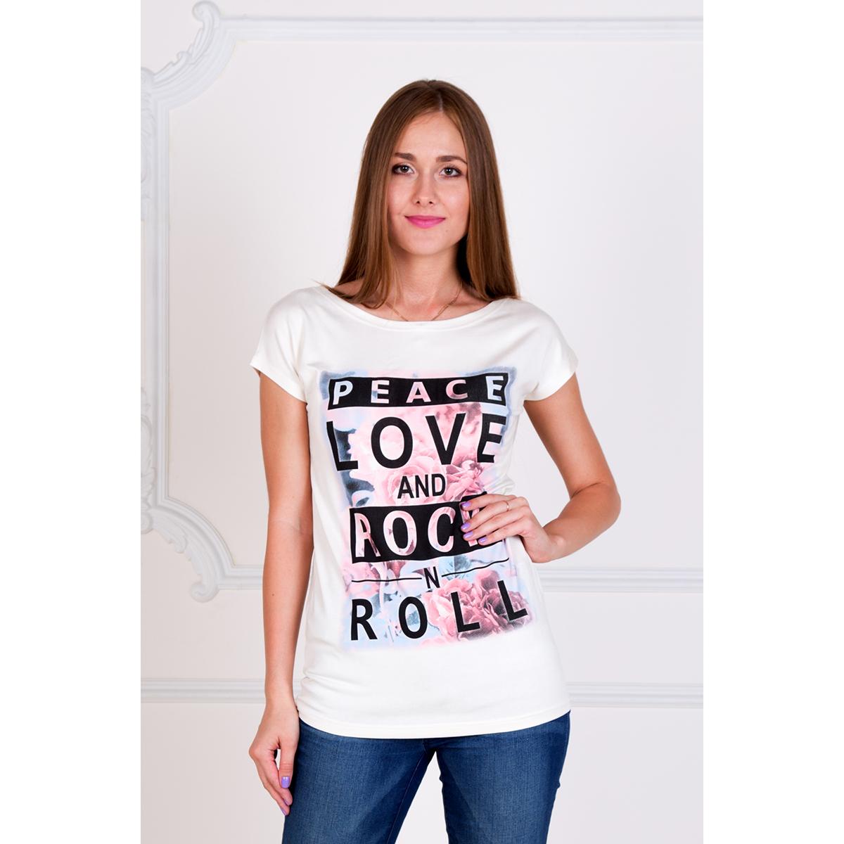Женская туника Рок-н-ролл, размер 54Платья, туники<br>Обхват груди:108 см<br>Обхват талии:88 см<br>Обхват бедер:116 см<br>Рост:167 см<br><br>Тип: Жен. туника<br>Размер: 54<br>Материал: Вискоза