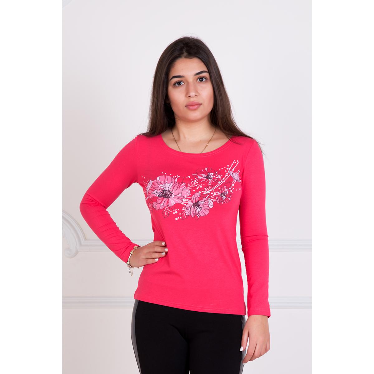 Женская блуза Анетта, размер 46Блузки, майки, кофты<br>Обхват груди:92 см<br>Обхват талии:74 см<br>Обхват бедер:100 см<br>Рост:167 см<br><br>Тип: Жен. блуза<br>Размер: 46<br>Материал: Вискоза