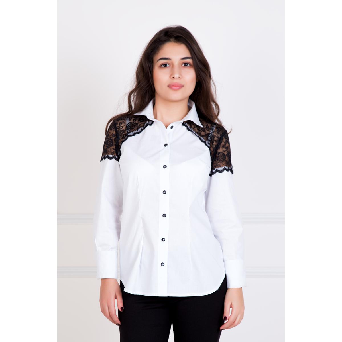 """Женская рубашка """"Инь"""", размер 52 Лика Дресс"""