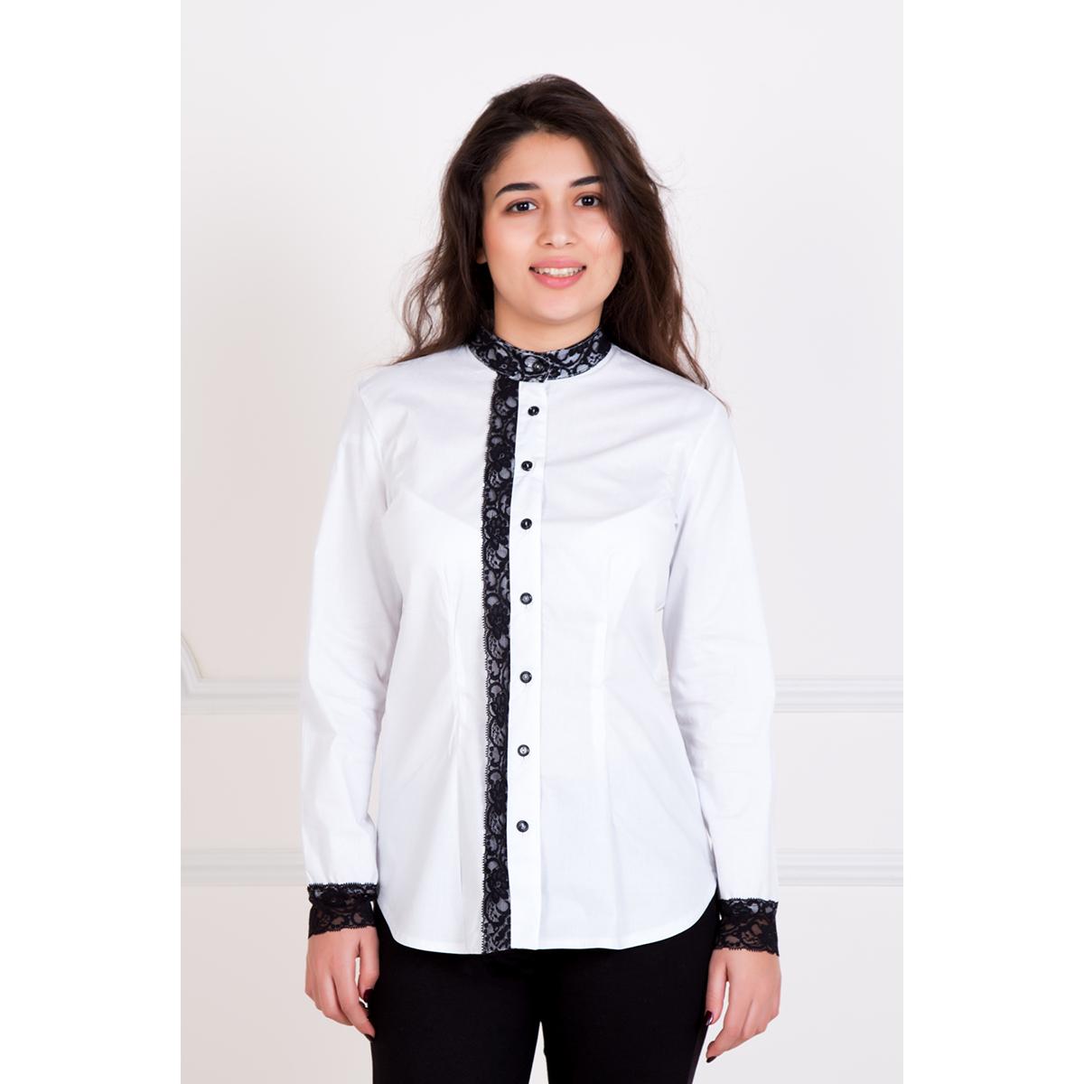 Женская рубашка Владлена, размер 50Рубашки<br>Обхват груди: 100 см <br>Обхват талии: 82 см <br>Обхват бедер: 108 см <br>Рост: 167 см<br><br>Тип: Жен. рубашка<br>Размер: 50<br>Материал: Хлопок