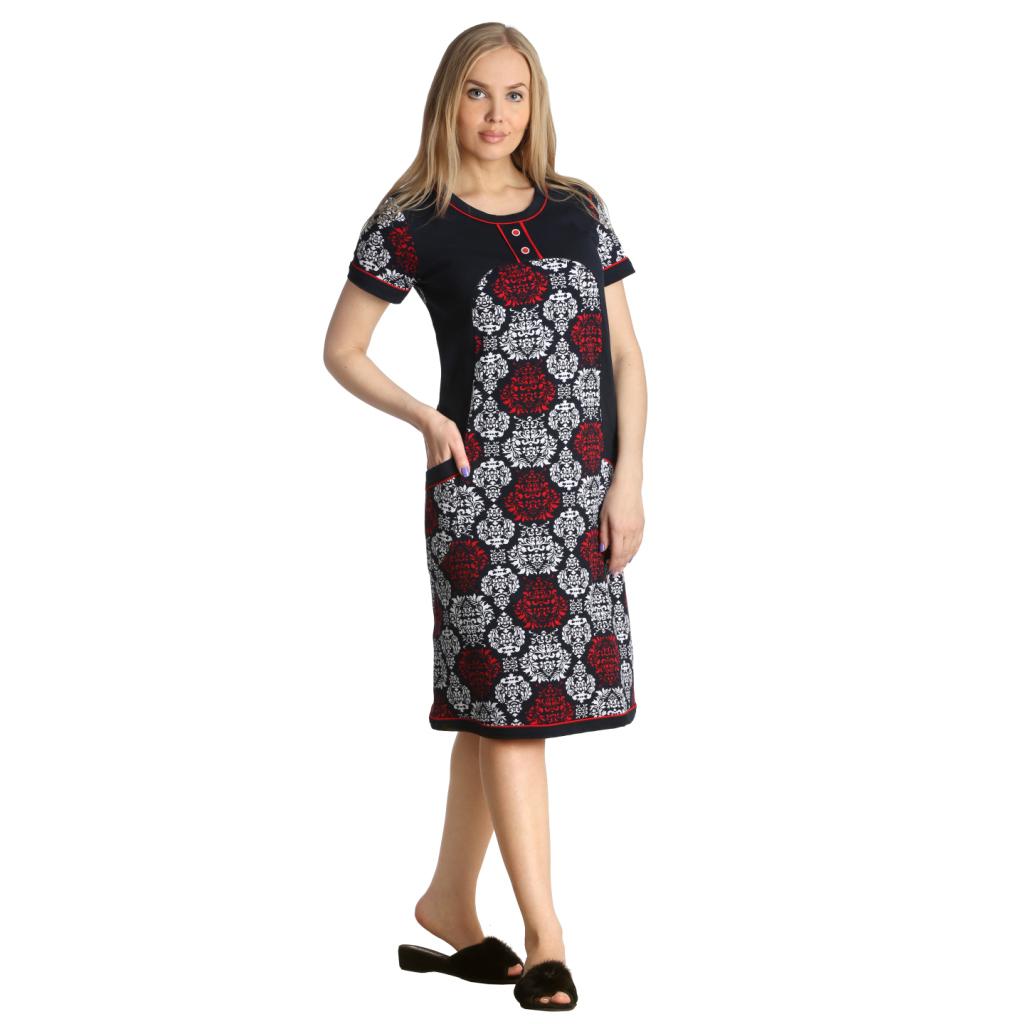 Женская туника-платье Дэйла арт. 0315, размер 52Платья, туники<br>Обхват груди:104 см<br>Обхват талии:86 см<br>Обхват бедер:112 см<br>Длина по спинке:100 см<br>Рост:164-170 см<br><br>Тип: Жен. туника<br>Размер: 52<br>Материал: Интерлок