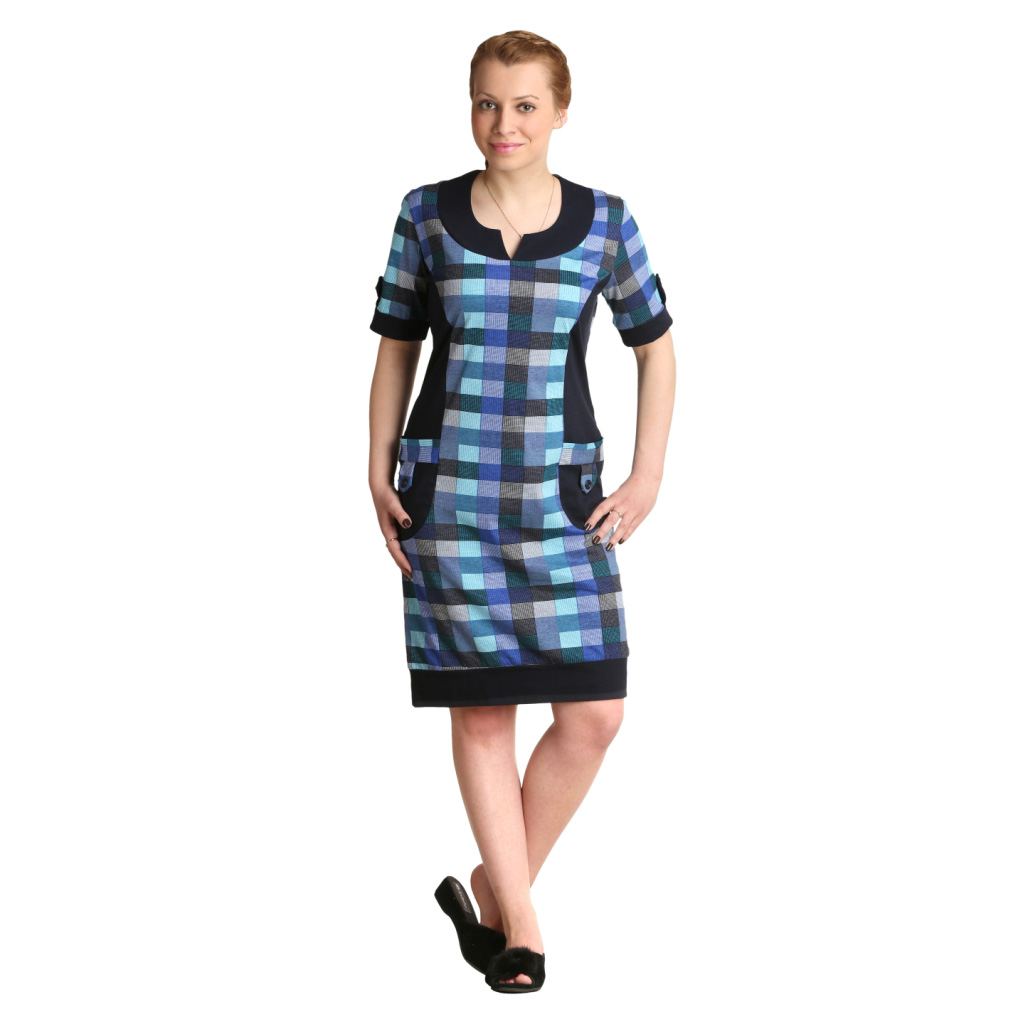 Женская туника-платье Берта арт. 0321, размер 52Туники<br>Обхват груди: 104 см <br>Обхват талии: 86 см <br>Обхват бедер: 112 см <br>Длина по спинке: 99 см <br>Рост: 164-170 см<br><br>Тип: Жен. туника<br>Размер: 52<br>Материал: Кулирка