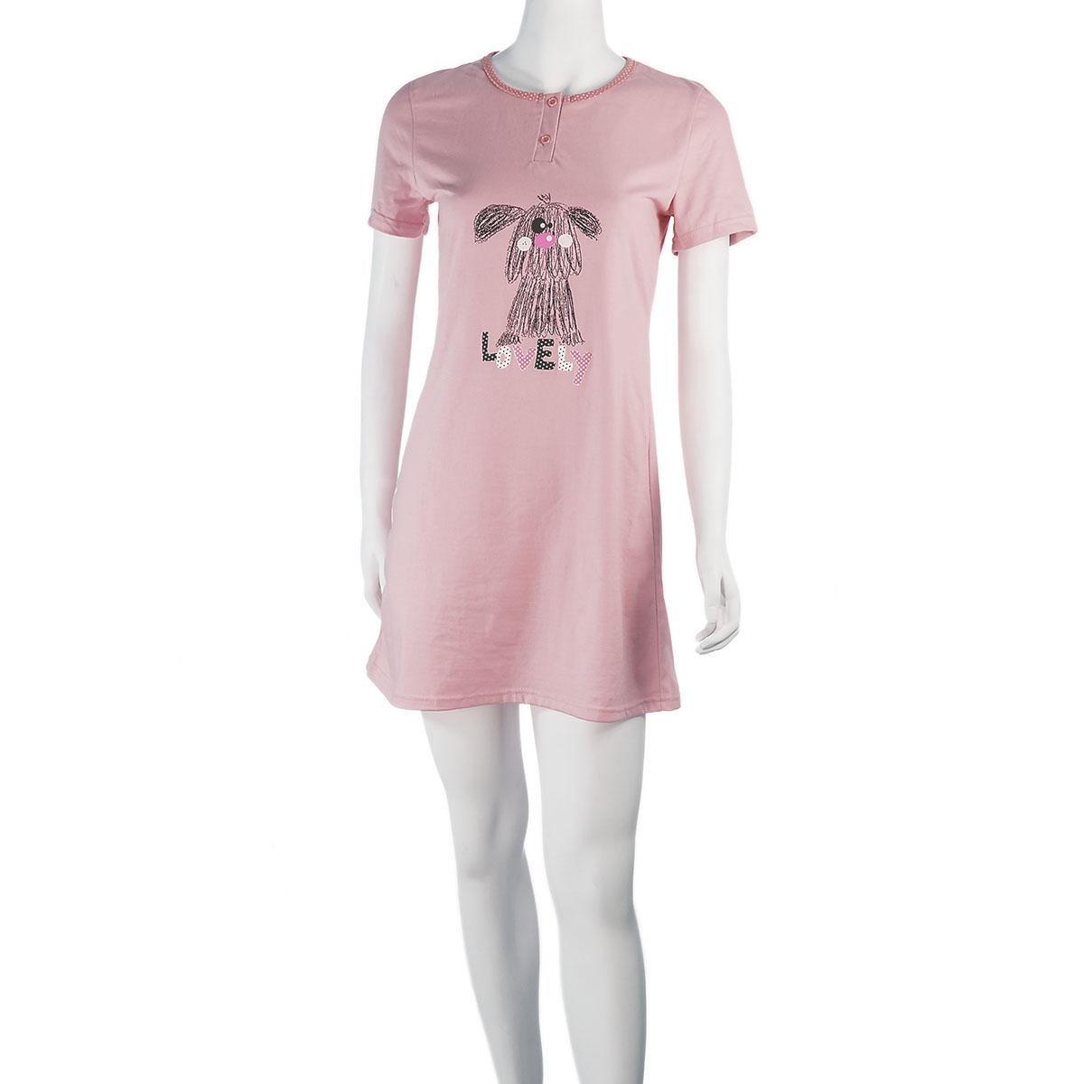 """Женская сорочка """"Барни"""" Розовый, размер 52 Иваново"""