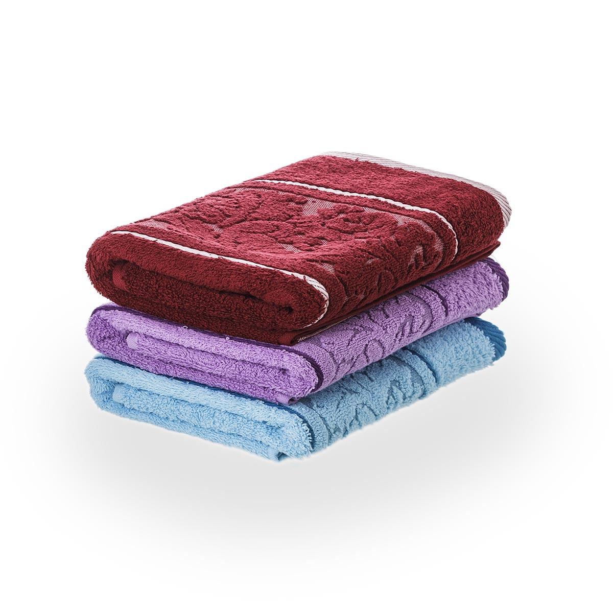 Набор полотенец Хлопок, цвет ОранжевыйМахровые полотенца<br>Плотность ткани:450 г/кв. м.<br><br>Тип: Полотенце<br>Размер: -<br>Материал: Махра