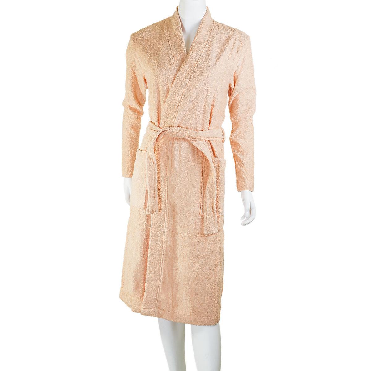 Купить со скидкой Женский халат «Серейа» Персиковый, размер 50