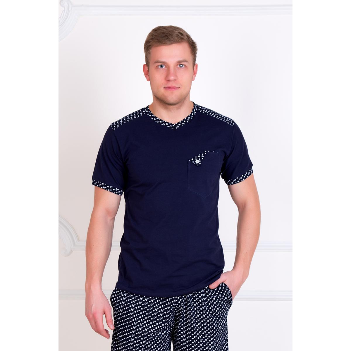 Мужской костюм  Элизар  Синий, размер 58 - Мужская одежда артикул: 16107