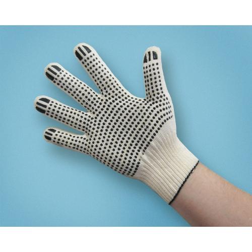 Перчатки с ПВХ наладонником - 10 парРазные мелочи<br><br><br>Тип: -<br>Размер: -<br>Материал: Хлопок