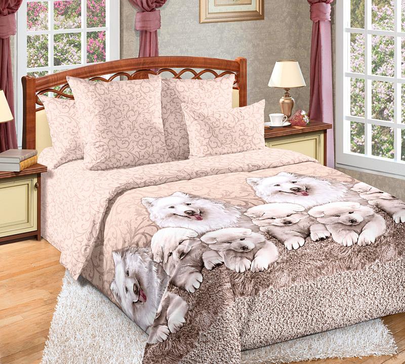 Комплект Джесси Бежевый, размер 2,0-спальный с европростынейПеркаль<br>Плотность ткани: 110 г/кв. м <br>Пододеяльник: 215х175 см - 1 шт. <br>Простыня: 220х240 см - 1 шт. <br>Наволочка: 70х70 см - 2 шт.<br><br>Тип: КПБ<br>Размер: 2,0-сп. евро<br>Материал: Перкаль