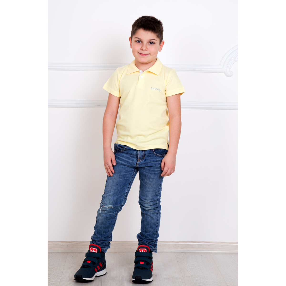 """Детская футболка-поло """"Круиз"""", размер 3 года"""