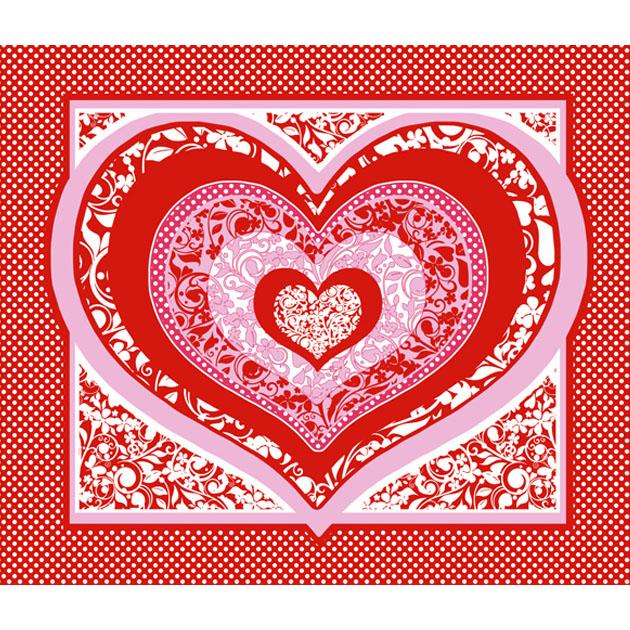 Вафельное полотенце Пора любви, размер 47х60 смВафельные полотенца<br><br><br>Тип: Вафельное полотенце<br>Размер: 50х60<br>Материал: Вафельное полотно