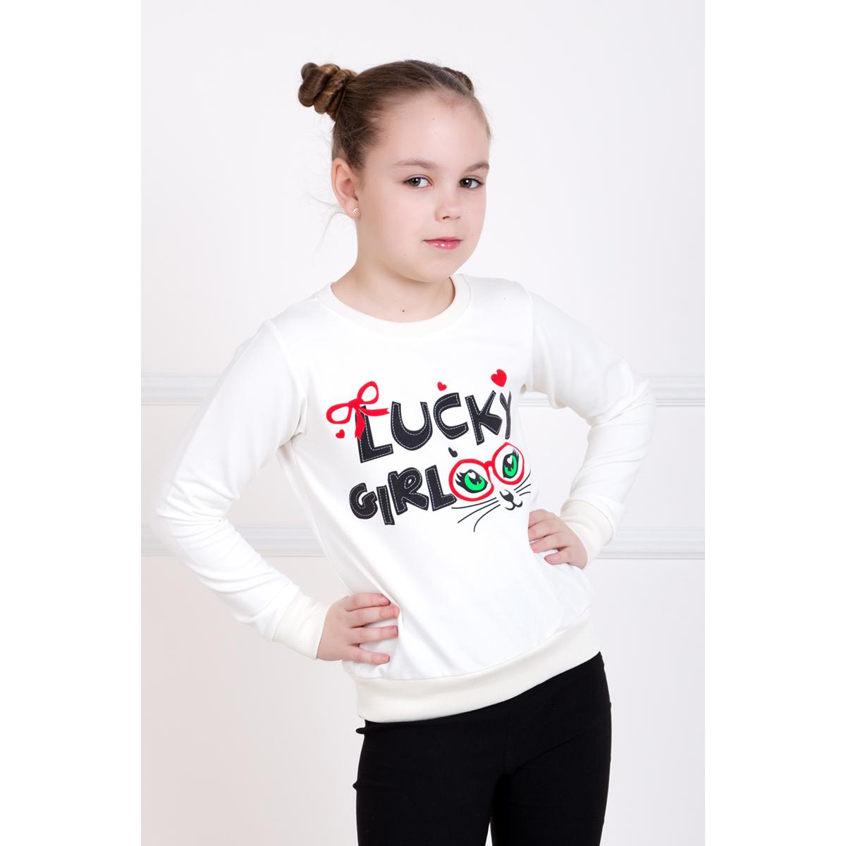 Детская толстовка Наслаждение, размер 6 летТолстовки, джемпера и рубашки<br><br><br>Тип: Жен. кофта<br>Размер: 6 лет<br>Материал: Футер