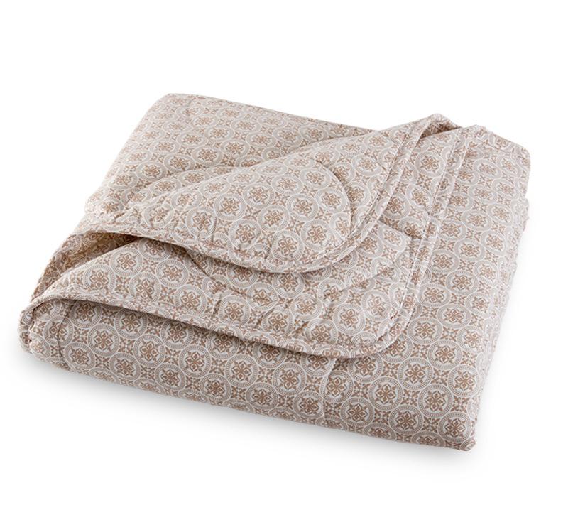 Одеяло Лен-хлопок облегченное, размер 1,5 спальное (140х205 см)Одеяла<br>Длина: 205 см <br>Ширина: 140 см <br>Чехол: Стеганое, с окаймляющей лентой <br>Плотность наполнителя: 150 г/кв. м<br><br>Тип: Одеяло<br>Размер: 140х205<br>Материал: Лен