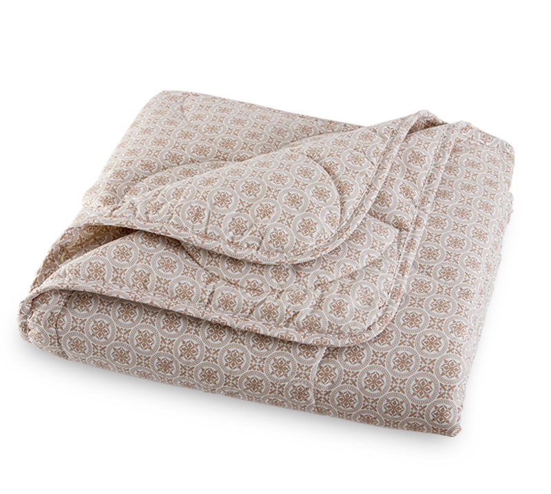 Одеяло Лен-хлопок, размер 1,5 спальное (140х205 см) одеяло лен хлопок облегченное размер 1 5 спальное 140х205 см