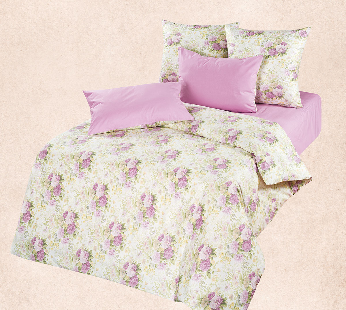 Комплект  Лилу , размер Семейный - Постельное белье артикул: 9062