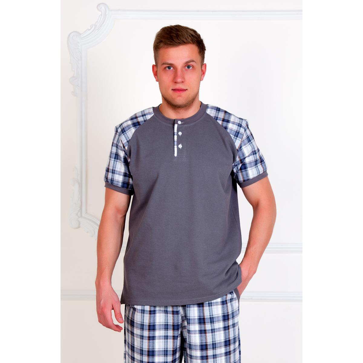 Мужской костюм Аристарх Серый, размер 44Костюмы<br>Обхват груди: 88 см <br>Обхват талии: 78 см <br>Обхват бедер: 94 см <br>Рост: 170-176 см<br><br>Тип: Муж. костюм<br>Размер: 44<br>Материал: Пике