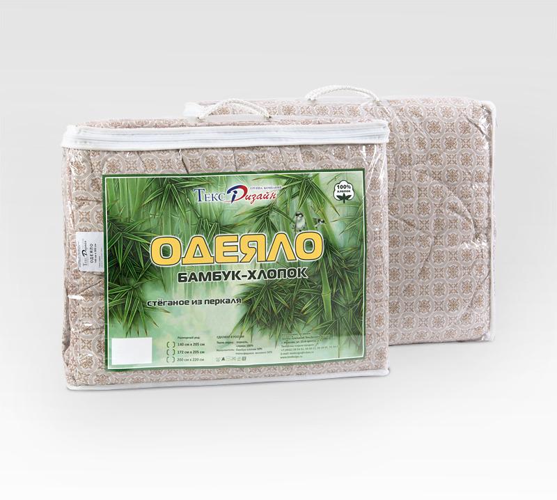 """Одеяло """"Бамбук-хлопок"""" облегченное, размер 1,5 спальное (140х205 см)"""