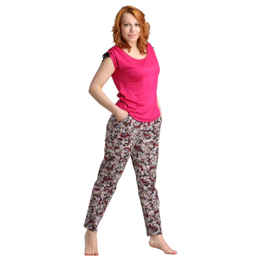 "Женские брюки ""Шайна"" арт. 0361, размер 46 ЕленаТекс"