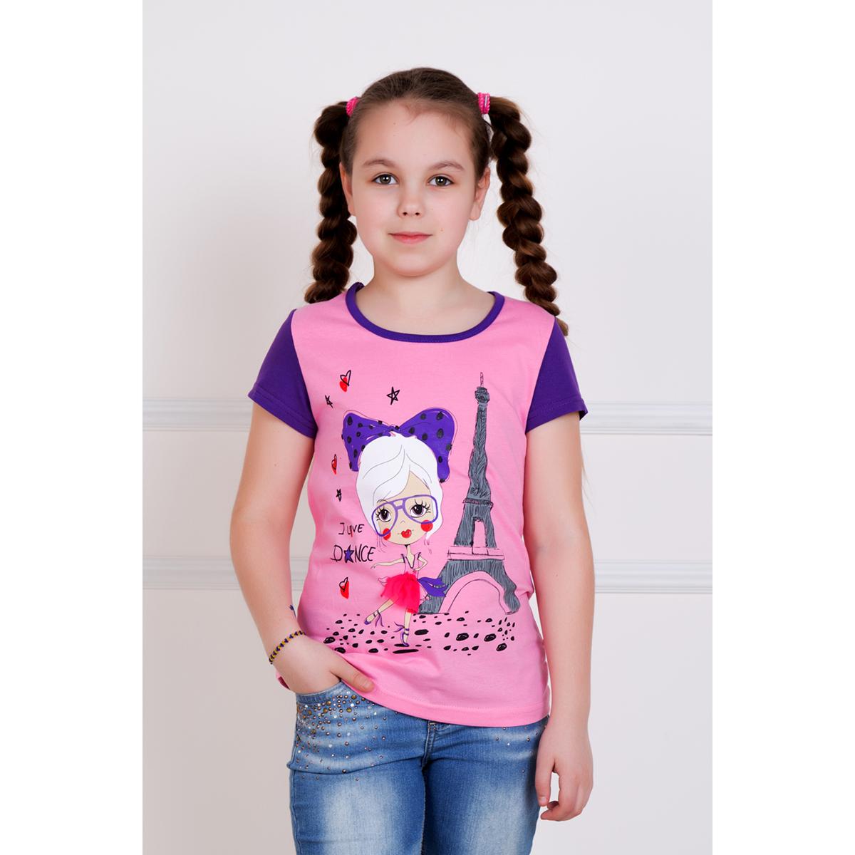 Детская футболка Малинка, размер 12 летФутболки и майки<br><br><br>Тип: Дет. футболка<br>Размер: 12 лет<br>Материал: Кулирка
