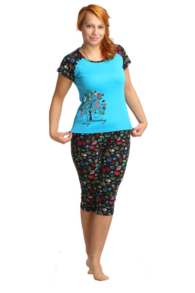 Жен. костюм арт. 16-0039 Бирюзовый р. 42 жен костюм арт 16 0039 коралловый р 42