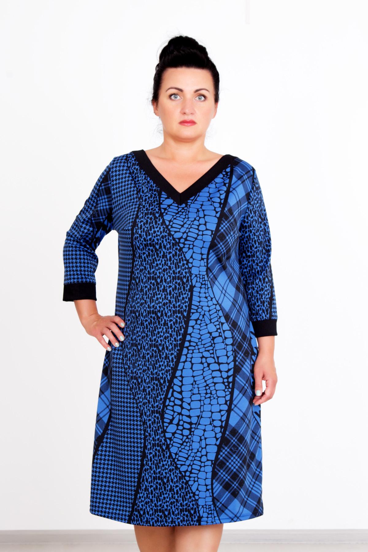 Жен. платье Сигма р. 48Платья<br>Обхват груди: 96 см <br>Обхват талии: 78 см <br>Обхват бедер: 104 см <br>Длина по спинке: 98 см <br>Рост: 167 см<br><br>Тип: Жен. платье<br>Размер: 48<br>Материал: Милано-пунто