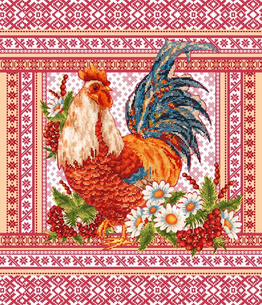 Вафельное полотенце Фольклор р. 50х60 смВафельные полотенца<br><br><br>Тип: Вафельное полотенце<br>Размер: 50х60<br>Материал: Вафельное полотно