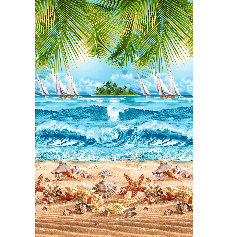 Вафельное полотенце Райский уголок р. 100х150Вафельные полотенца<br><br><br>Тип: Вафельное полотенце<br>Размер: 100х150<br>Материал: Вафельное полотно