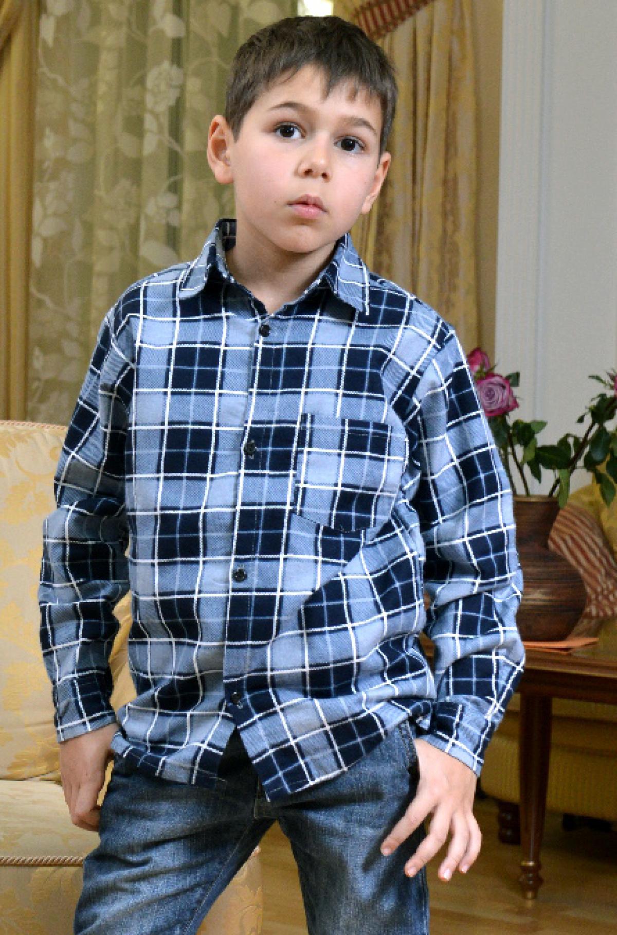 Дет. рубашка арт. 18-0091 р. 34Толстовки, джемпера и рубашки<br><br><br>Тип: Дет. рубашка<br>Размер: 34<br>Материал: Фланель