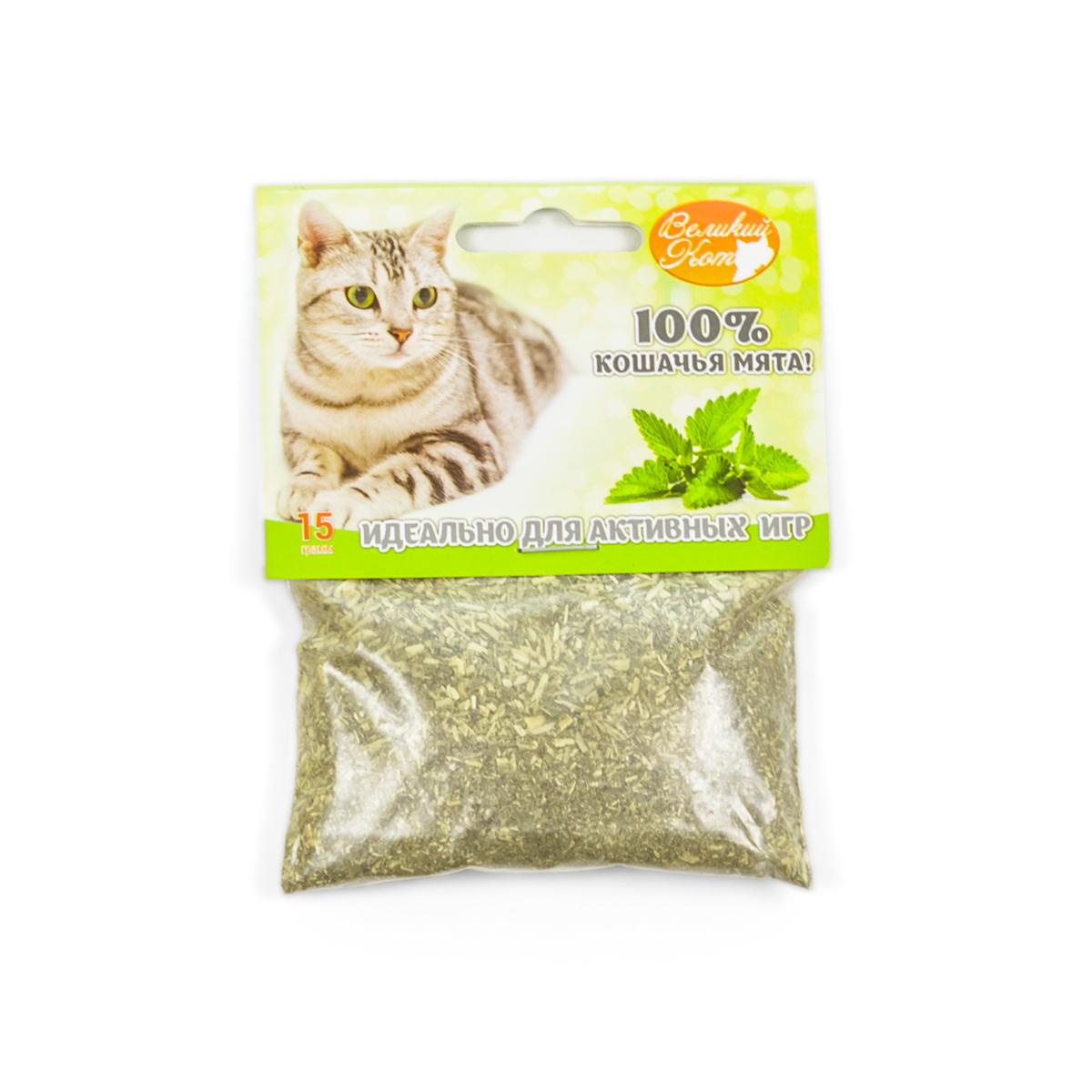 - Кошачья мята р. 15 гТовары для животных<br><br><br>Тип: -<br>Размер: 15 г<br>Материал: -