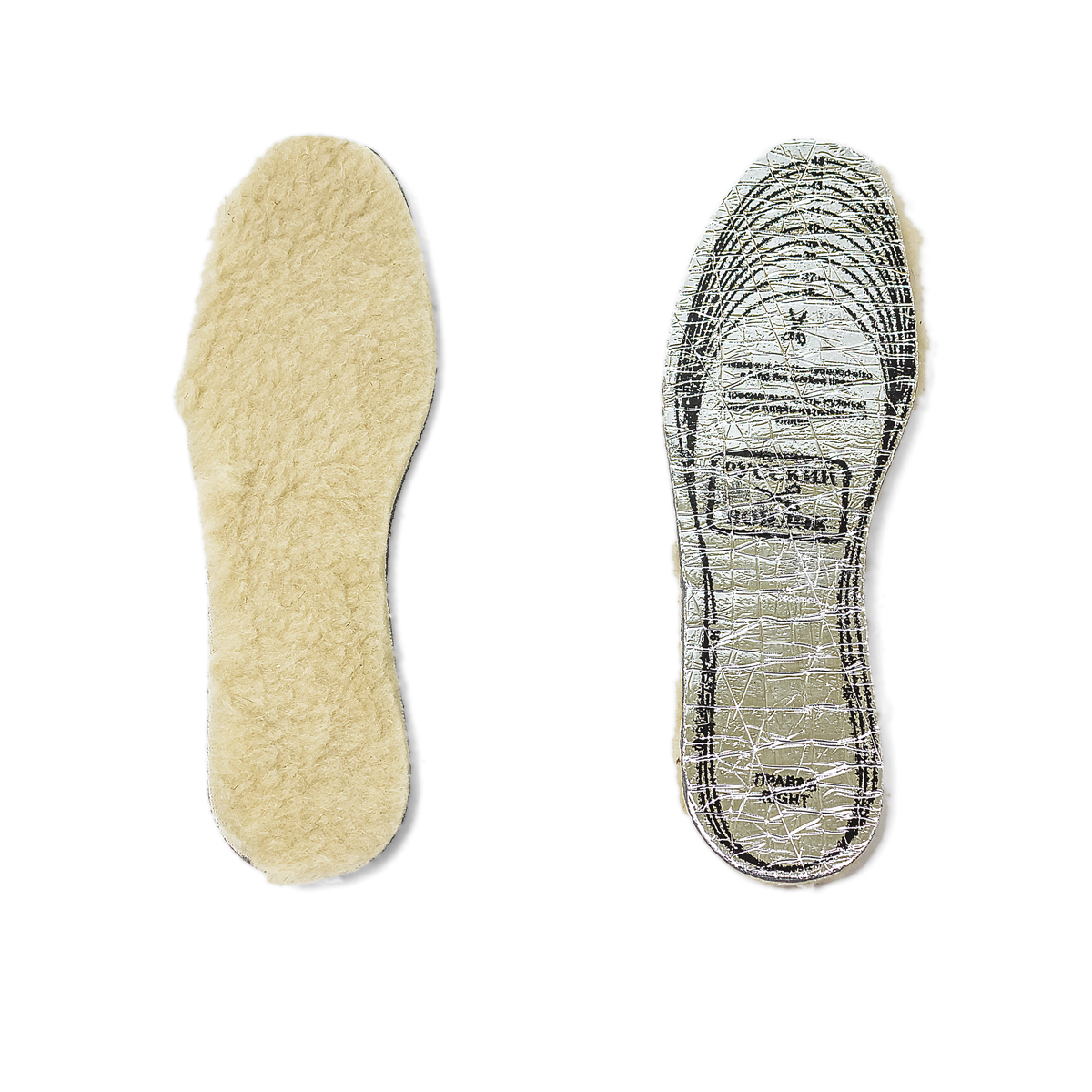 - Стельки Теплые ножки р. УниверсальныйСогревающий<br><br><br>Тип: -<br>Размер: Универсальный<br>Материал: Овечья шерсть