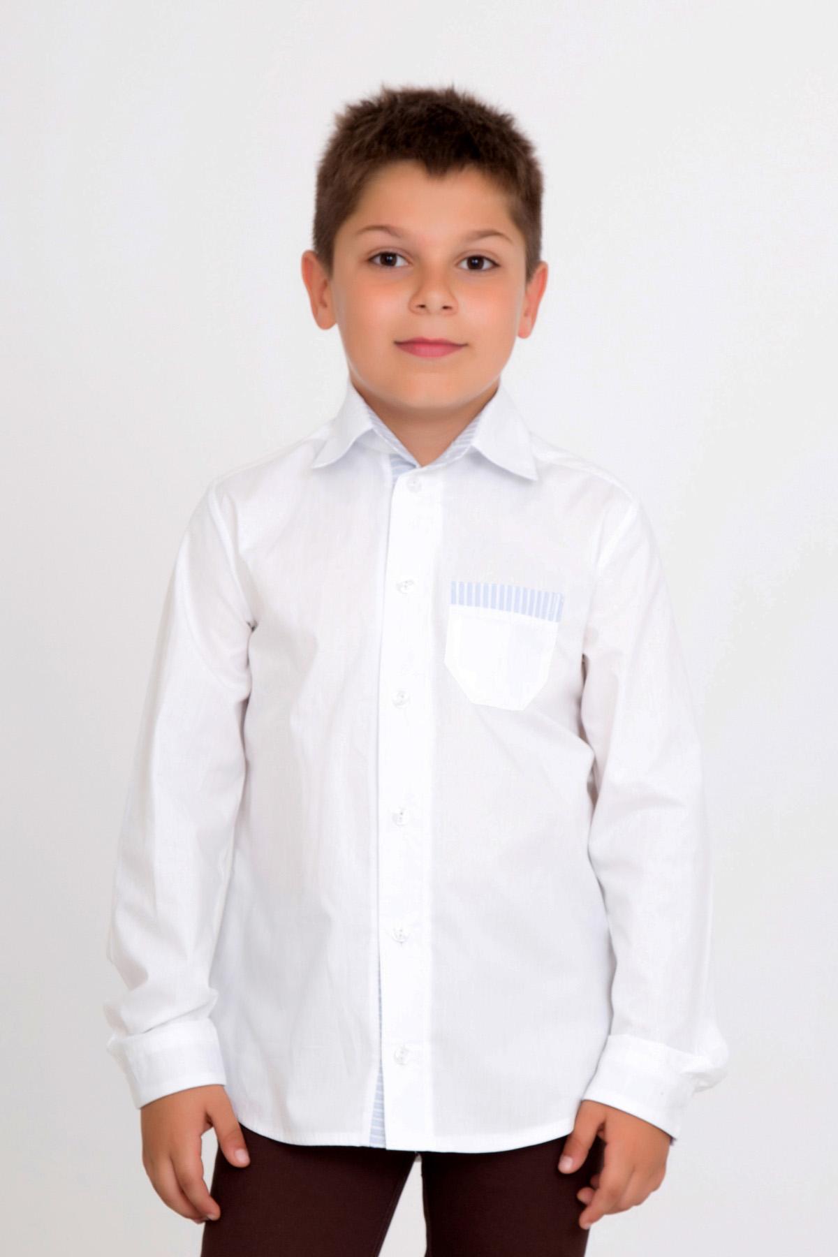 Дет. рубашка Елисей р. 36Толстовки, джемпера и рубашки<br><br><br>Тип: Дет. рубашка<br>Размер: 36<br>Материал: Перкаль