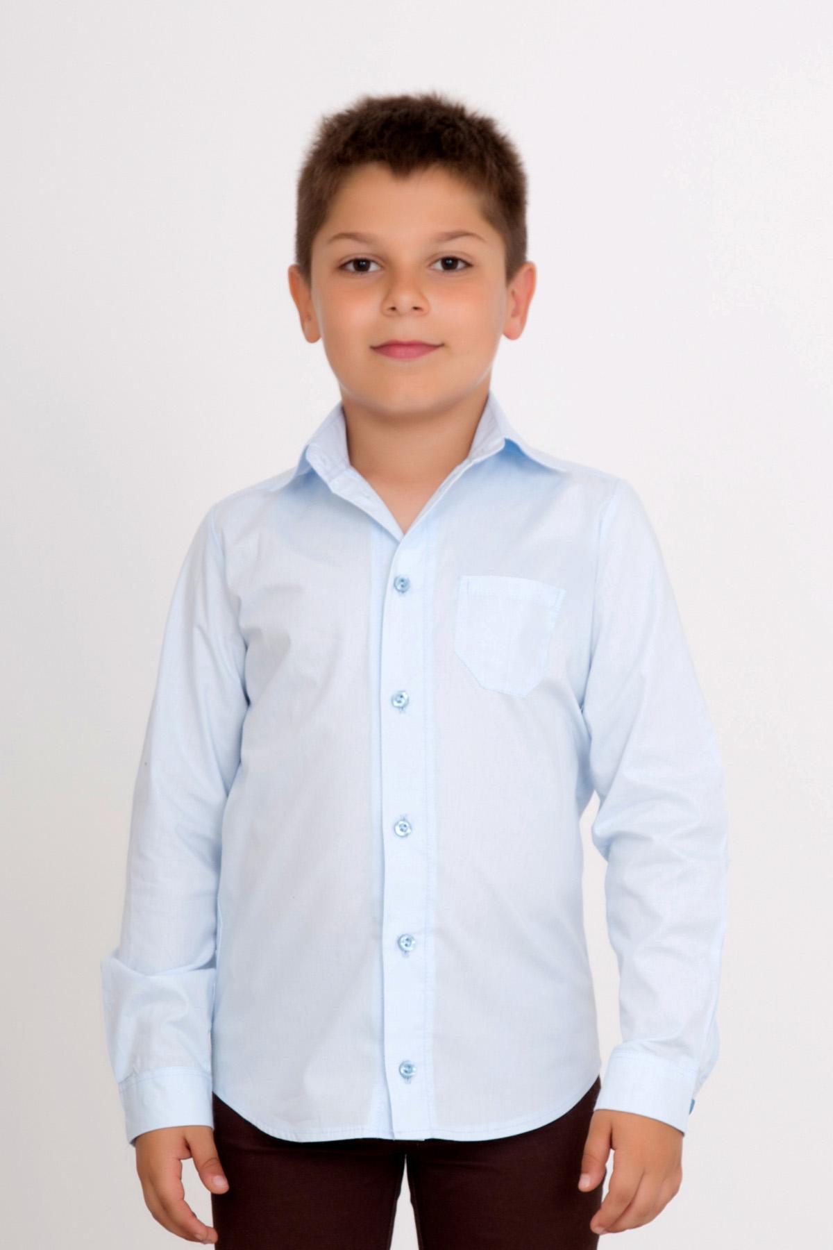 Дет. рубашка Ермак р. 34Толстовки, джемпера и рубашки<br><br><br>Тип: Дет. рубашка<br>Размер: 34<br>Материал: Перкаль