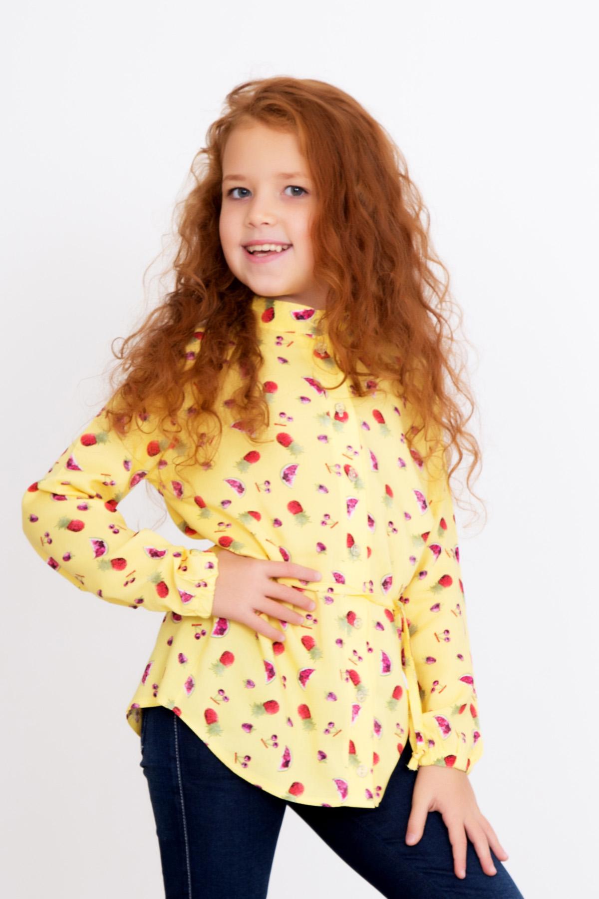 Дет. рубашка Леся р. 32Джемпера и толстовки<br><br><br>Тип: Дет. рубашка<br>Размер: 32<br>Материал: Штапель