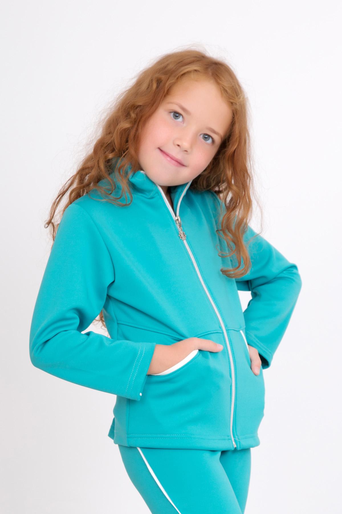 Дет. толстовка Спорт Ментол р. 32Толстовки, джемпера и рубашки<br><br><br>Тип: Дет. толстовка<br>Размер: 32<br>Материал: Полиэстер