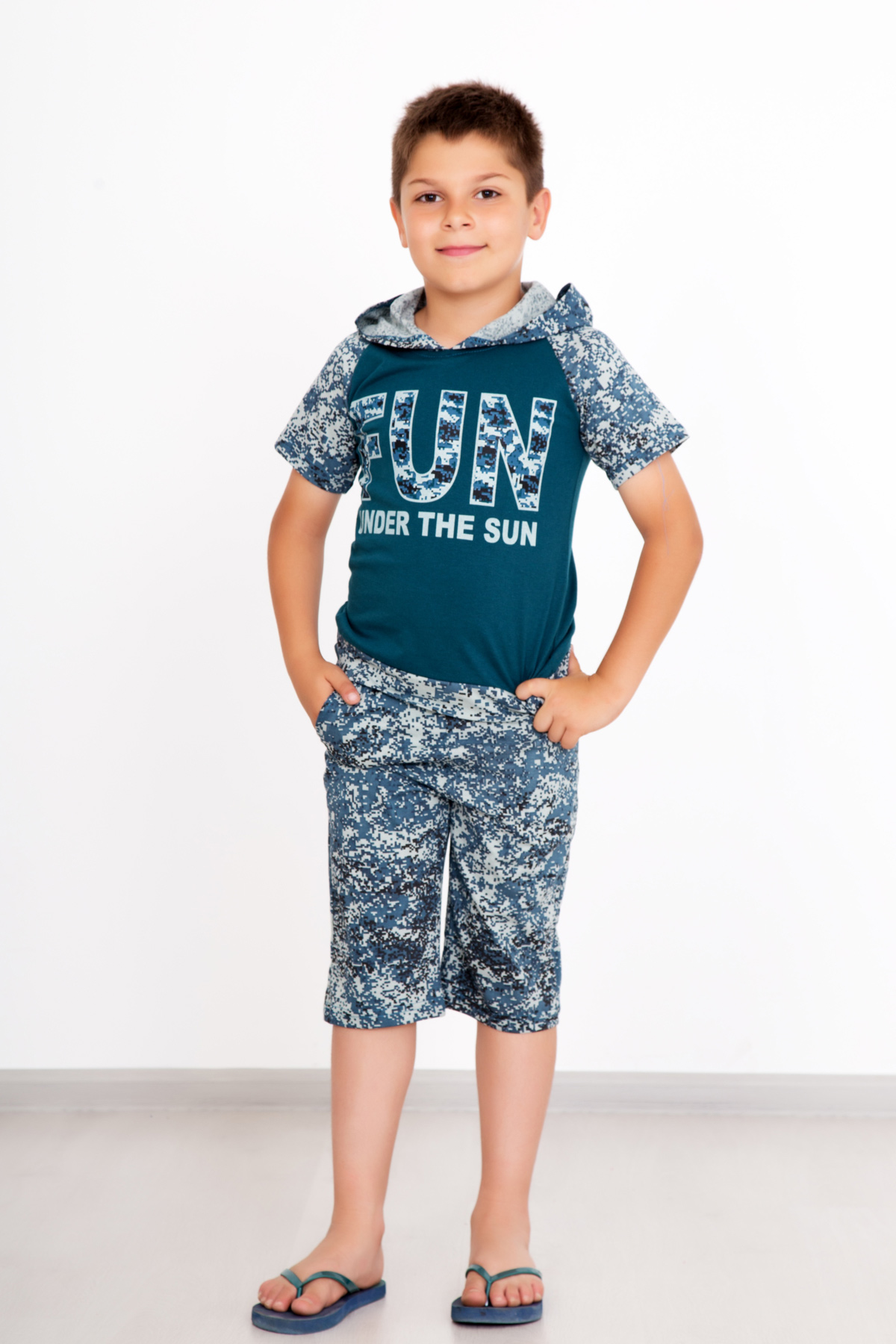 Дет. костюм Ким р. 28Костюмы<br><br><br>Тип: Дет. костюм<br>Размер: 28<br>Материал: Кулирка