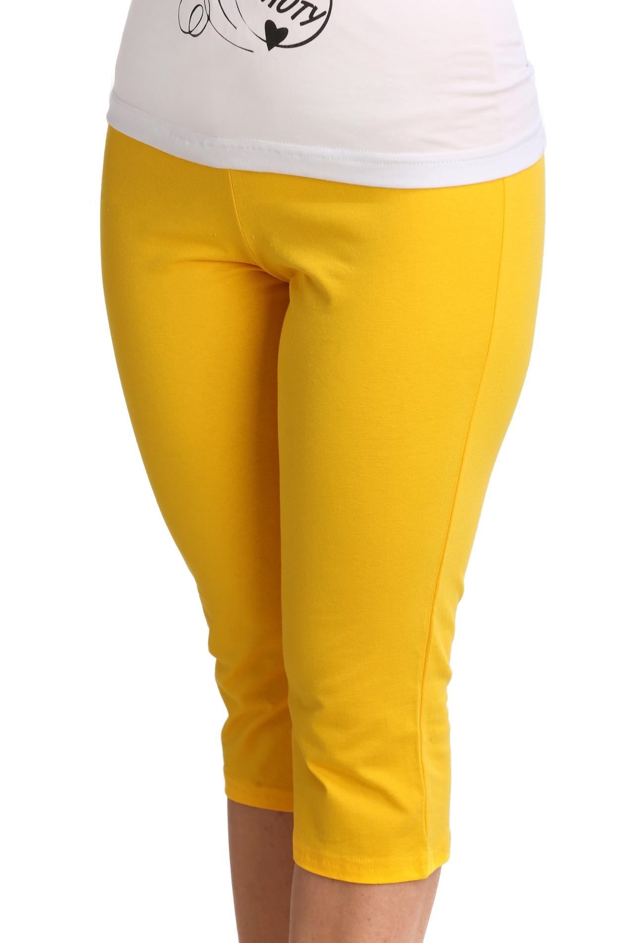 Жен. бриджи арт. 16-0072 Желтый р. 64 - Женская одежда артикул: 21269