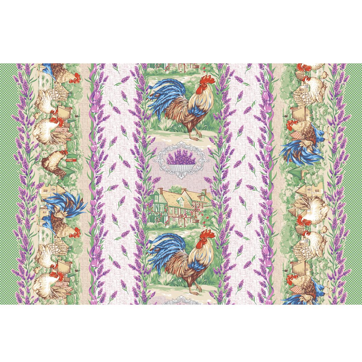 Вафельное полотенце Прованские травы р. 100х150Вафельные полотенца<br><br><br>Тип: Вафельное полотенце<br>Размер: 100х150<br>Материал: Вафельное полотно