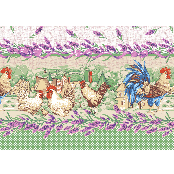 Вафельное полотенце Прованские травы р. 50х60Вафельные полотенца<br><br><br>Тип: Вафельное полотенце<br>Размер: 50х60<br>Материал: Вафельное полотно