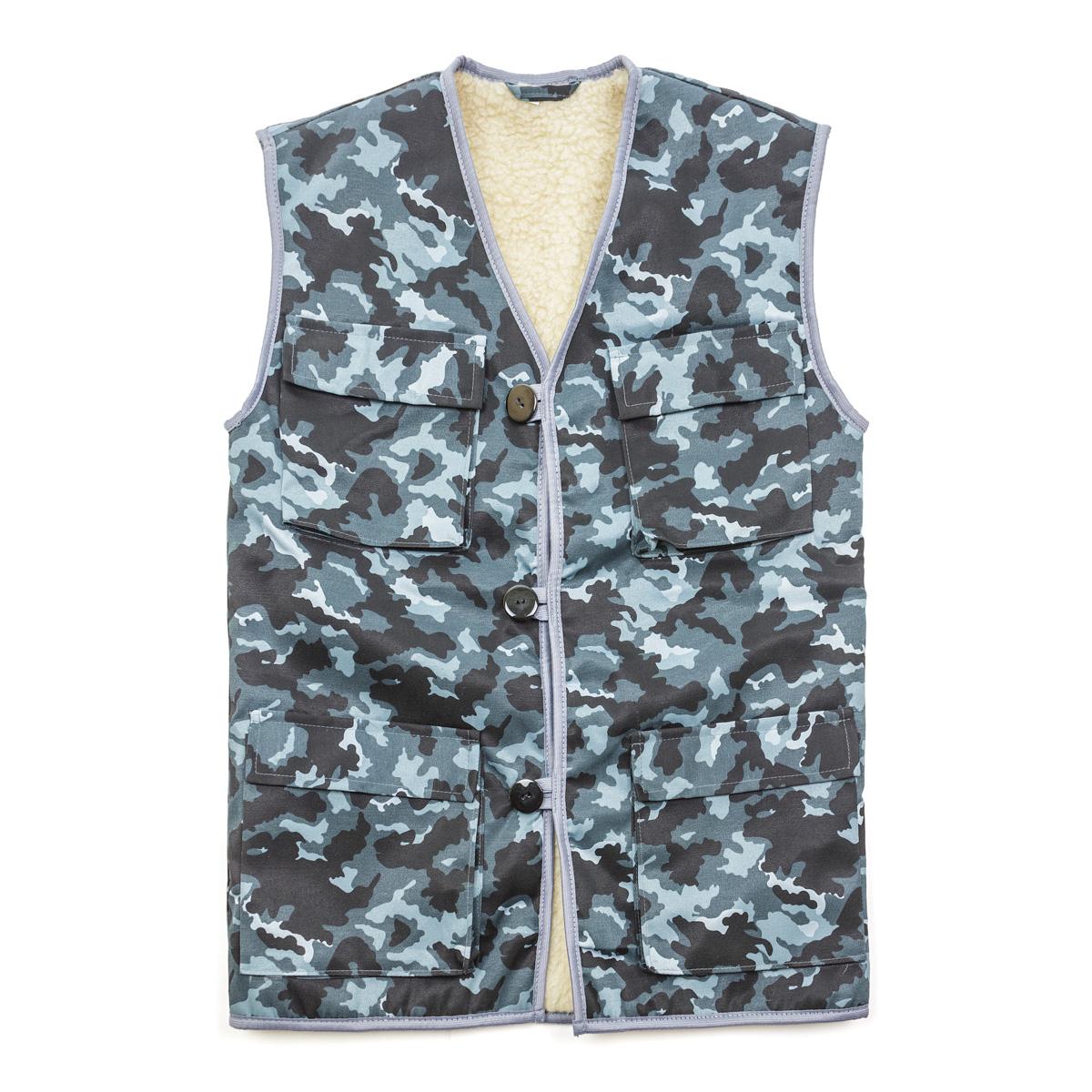 Муж. жилет арт. 13-0038 р. 60 - Текстиль для здоровья артикул: 21870