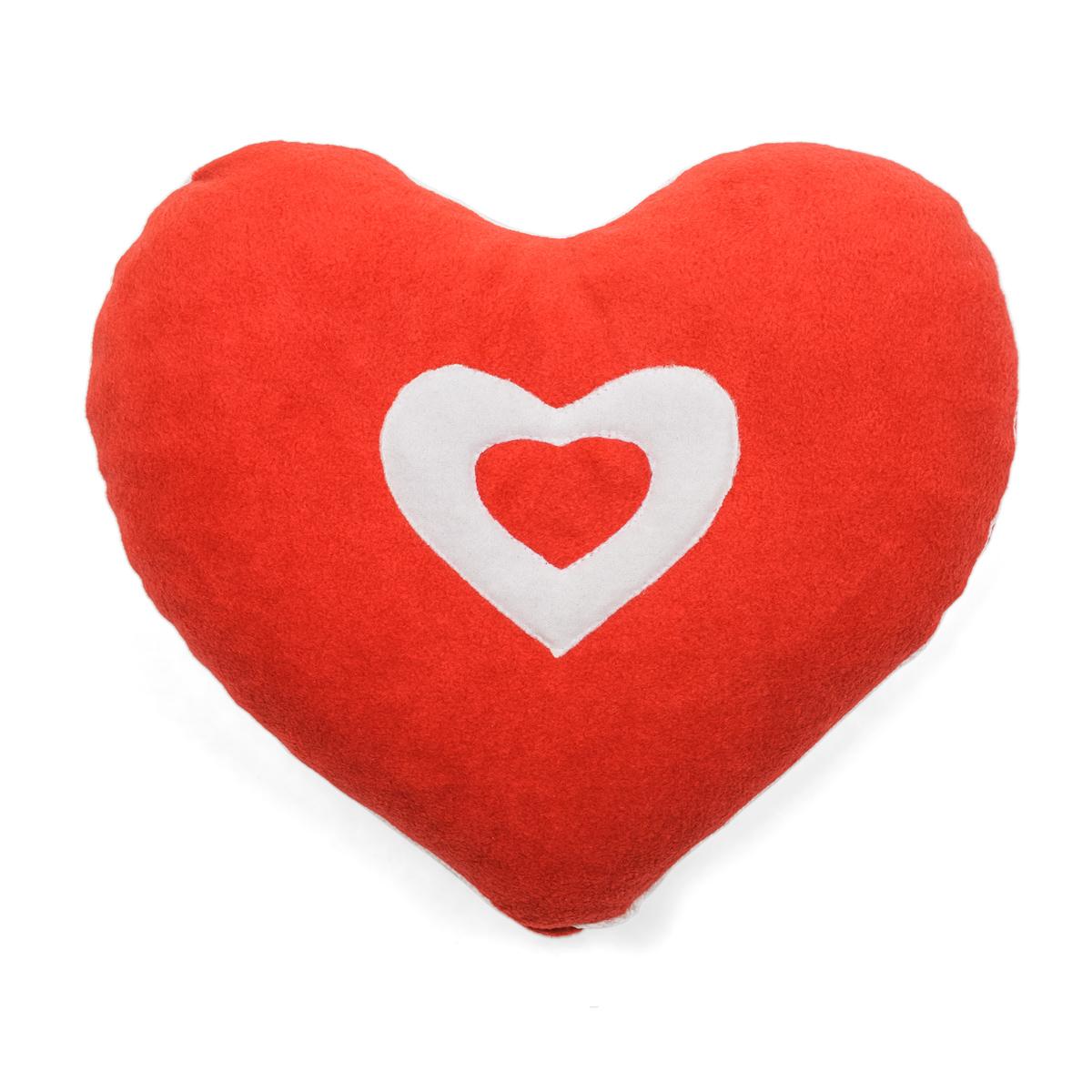Подушка  Сердечко  р. 35х30х10 - Текстиль для здоровья артикул: 21806