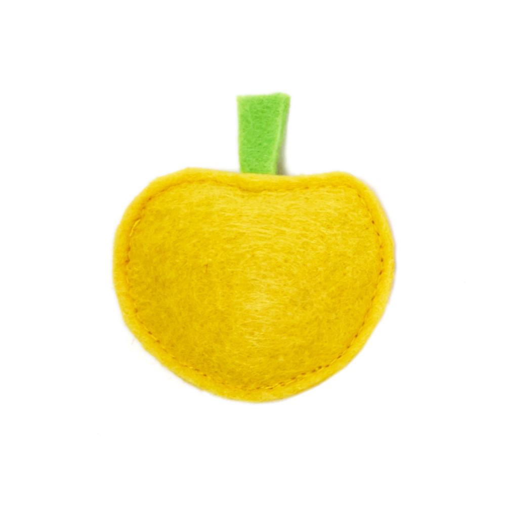 Мини-игрушка ЯблочкоТовары для животных<br><br><br>Тип: -<br>Размер: -<br>Материал: Войлок